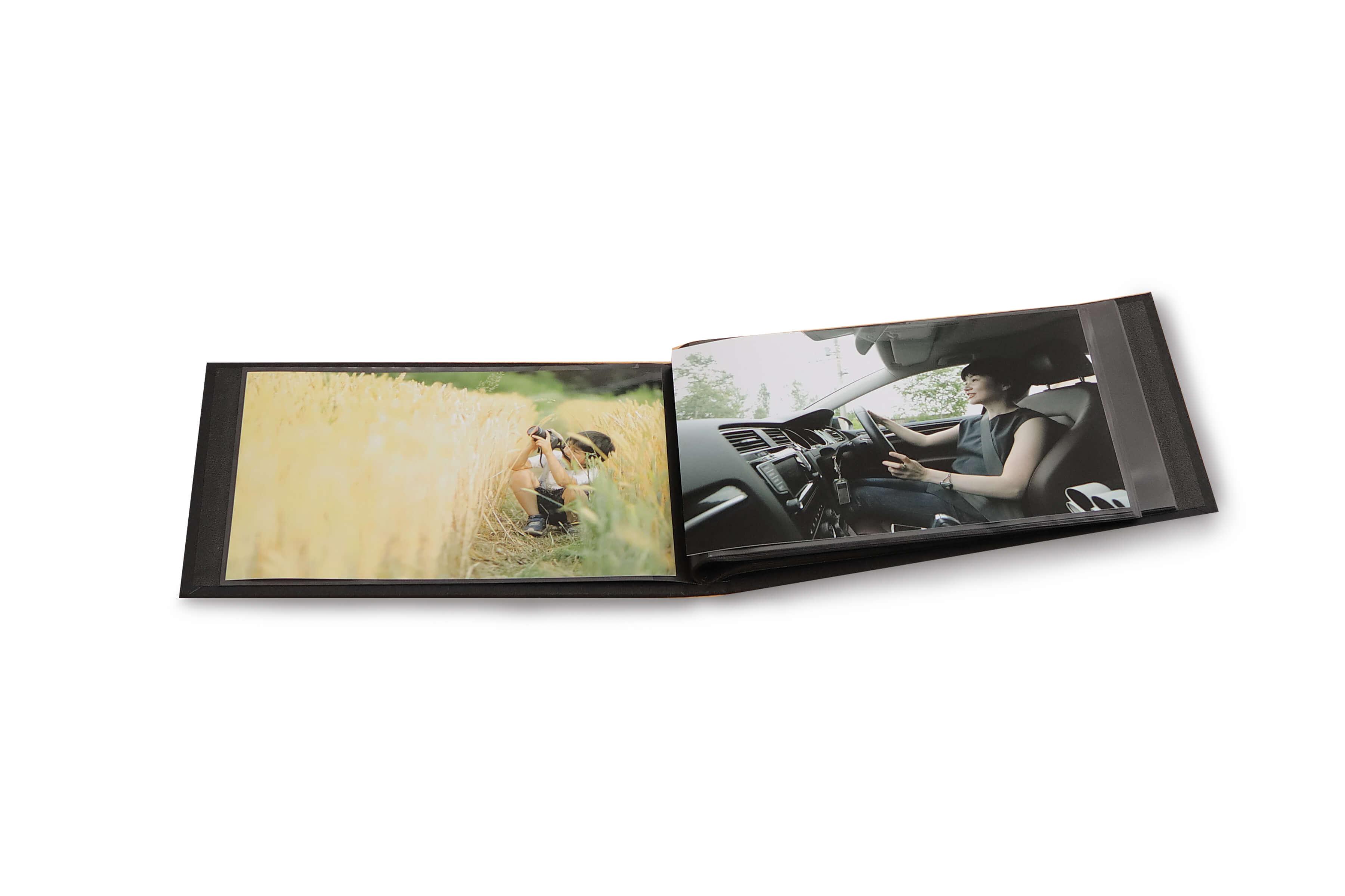 2Lサイズプリント40枚入り布張りハードカバーアルバム
